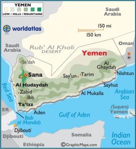 Yemen map 1